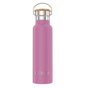 MontiiCo Insulated Drink Bottle (600ml) - Rose