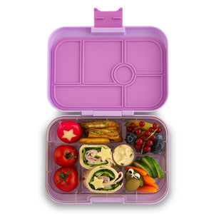 Yumbox Original Bento Lunchbox (6 Compartment) - Lila Purple - phunkyBento