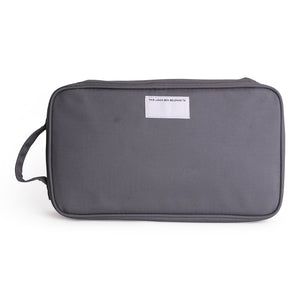 Love Mae | Cooler Bag with Ice Brick - Charcoal