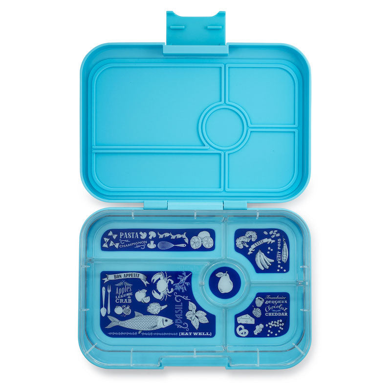 Yumbox Tapas Bento Lunchbox (5 Compartments) - Nevis Blue  ** PRE-ORDER NOW! **