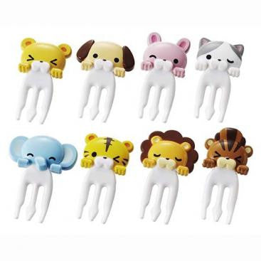 Cuddly Animal Forks/Picks - phunkyBento