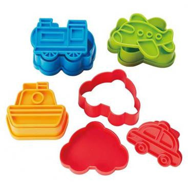 Mini Vehicles - Sandwich Cutters & Rice Moulds - phunkyBento