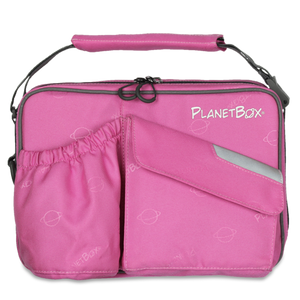 PlanetBox Insulated Carry Bag - Perfectly Pink - phunkyBento