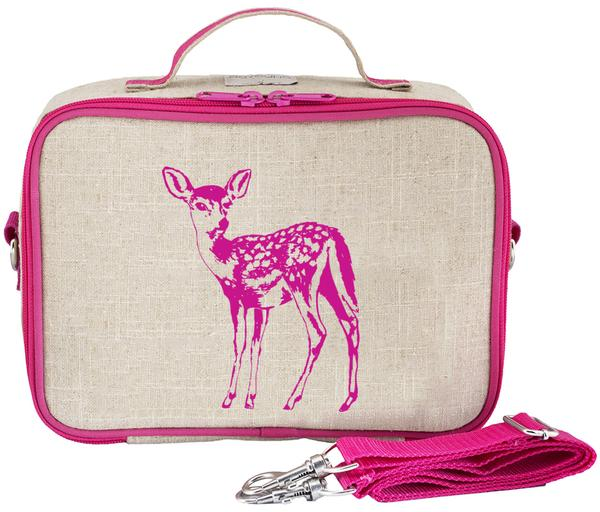 SoYoung Lunch Bag - Pink Fawn - phunkyBento