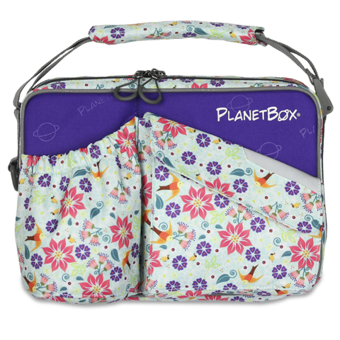 PlanetBox Carry Bag - Botanical - phunkyBento