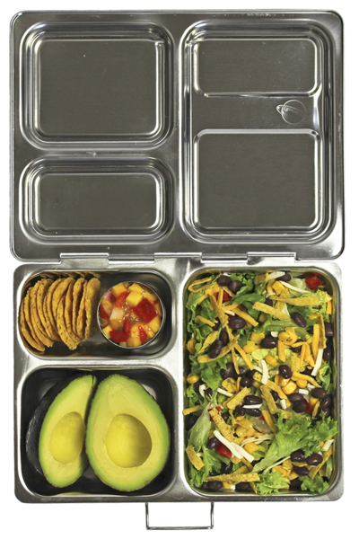 A Kitchen Is Launching An Express Lunch Service: PlanetBox LAUNCH Stainless Steel Bento Lunch Box (3