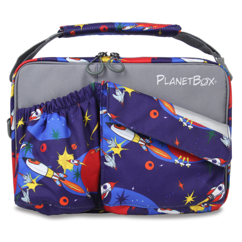 PlanetBox Carry Bag - Rocket - phunkyBento