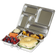 PlanetBox ROVER Stainless Steel Bento Lunch Box (5 compartments)