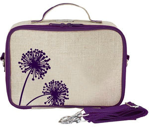 SoYoung Lunch Bag - Purple Dandelion - phunkyBento