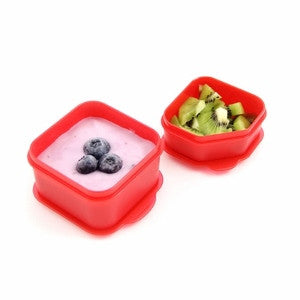Goodbyn Dippers (Set of 2) - Red - phunkyBento