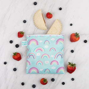 Bumkins Large Reusable Snack Bag - Rainbows - phunkyBento