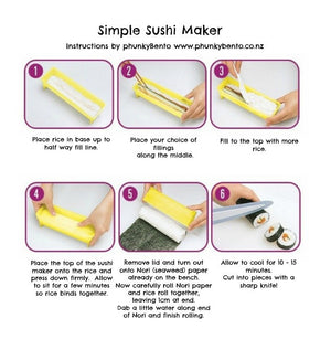 Simple Sushi Maker *** RE-STOCK END OF MAY *** - phunkyBento