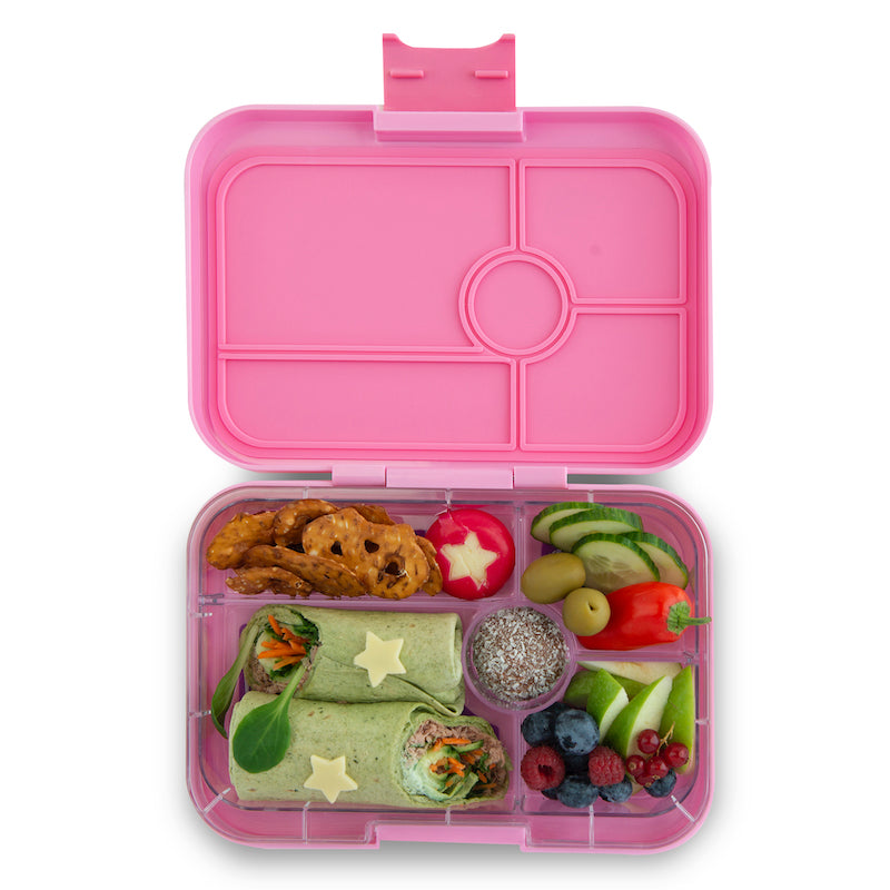 Yumbox Tapas Bento Lunchbox (5 Compartments) - Stardust Pink  ** PRE-ORDER NOW! **