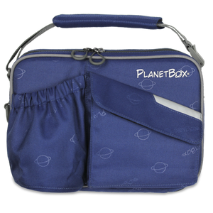 PlanetBox Insulated Carry Bag - Starry Blue - phunkyBento