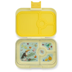Yumbox Panino Bento Lunchbox (4 Compartment) - Sunburst Yellow - phunkyBento