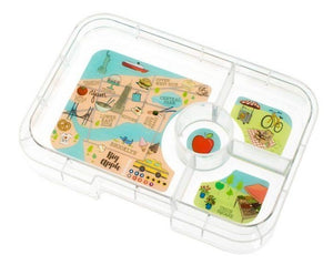 Yumbox Tapas Interchangeable Tray (4 Compartment) - New York City