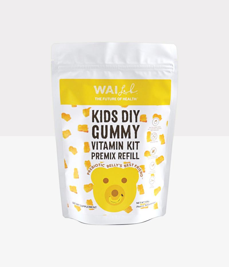 WaiLab | DIY Gummy Kit REFILL - Prebiotic Belly's Best Friend