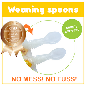Sinchies | Reusable Pouch Weaning Spoons - 2pk