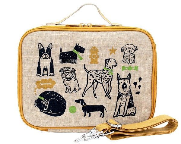 SoYoung Lunch Bag - Wee Gallery Pups - phunkyBento