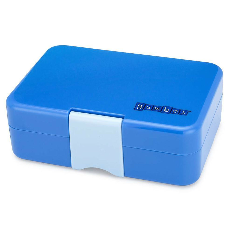 Yumbox Mini Snack Box (3 Compartments) - True Blue