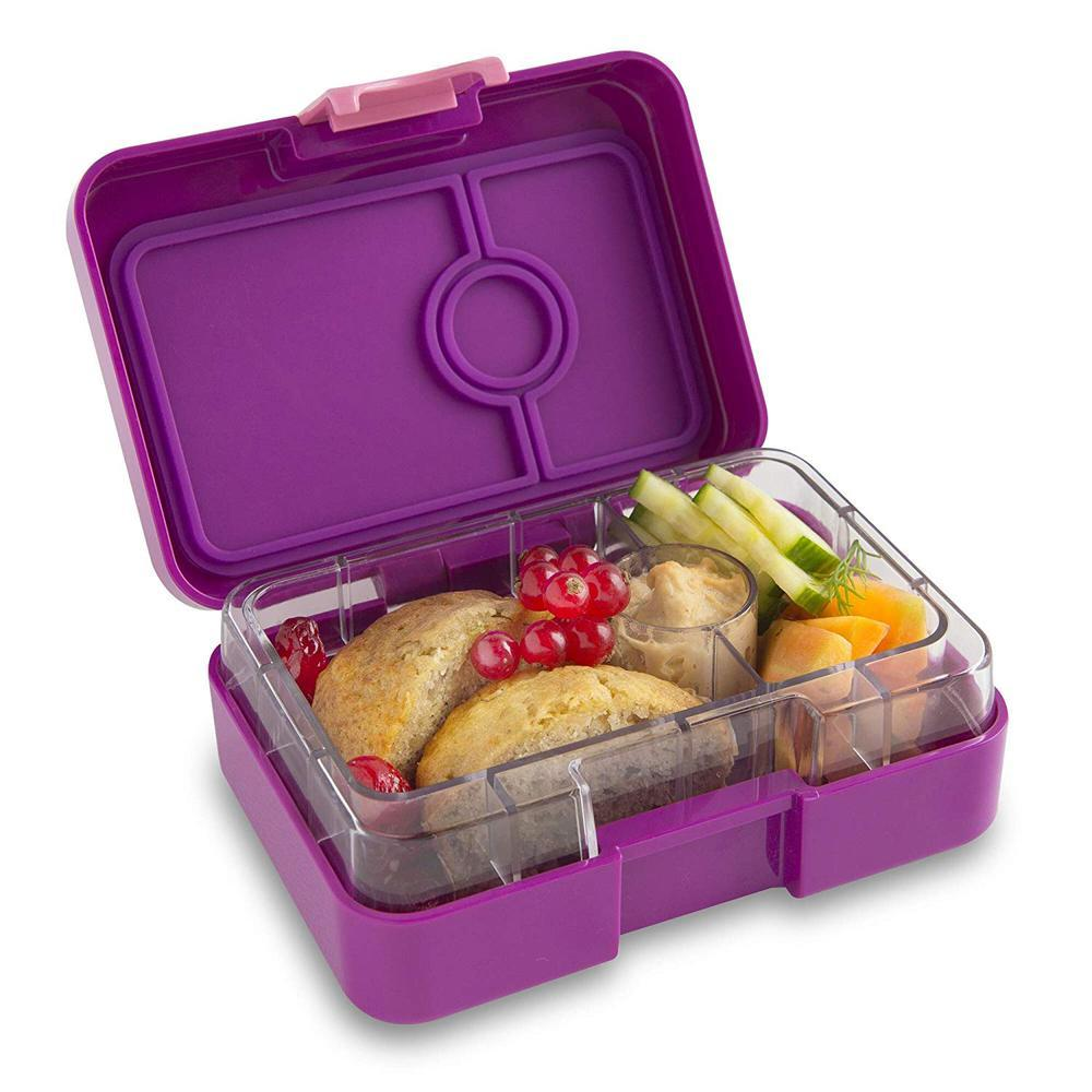Yumbox Mini Snack Box (3 Compartments) - Dreamy Purple