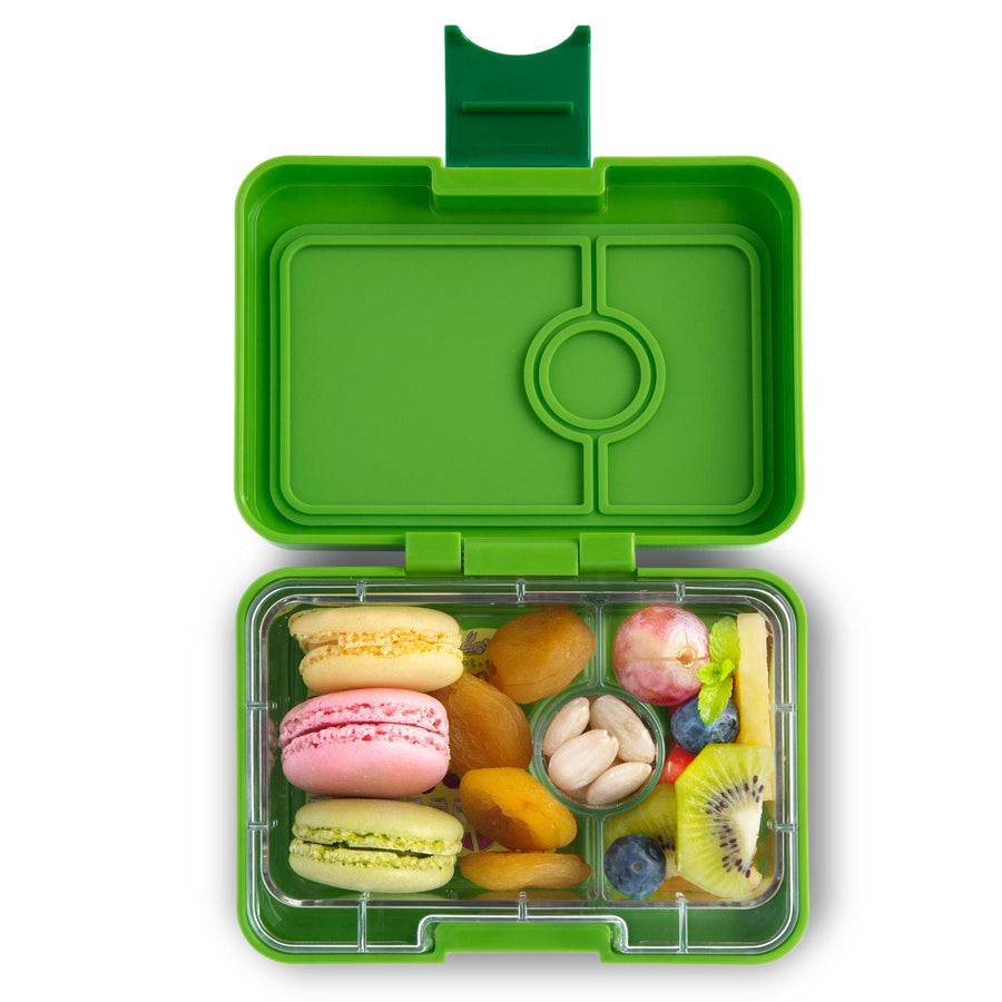 Yumbox Mini Snack Box (3 Compartments) - Go Green