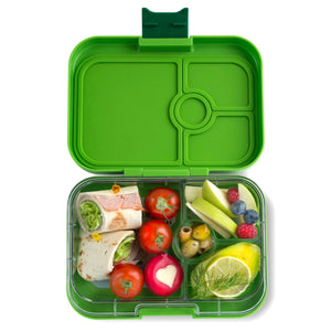 Yumbox Panino Bento Lunchbox (4 Compartment) - Congo Green