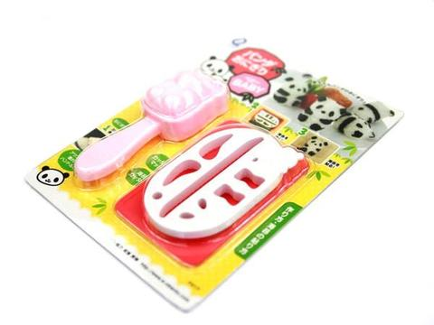 Baby Panda Rice Shaper Set - phunkyBento