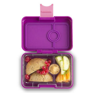 Yumbox Mini Snack Box (3 Compartment) - Bijoux Purple - phunkyBento