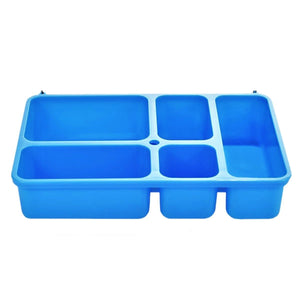 Go Green Lunch Box | LARGE - Blue - phunkyBento