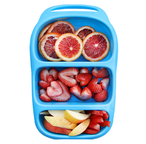 Goodbyn Bynto Lunchbox (NEW - now includes 2 leak proof dippers) - Neon Aqua - phunkyBento
