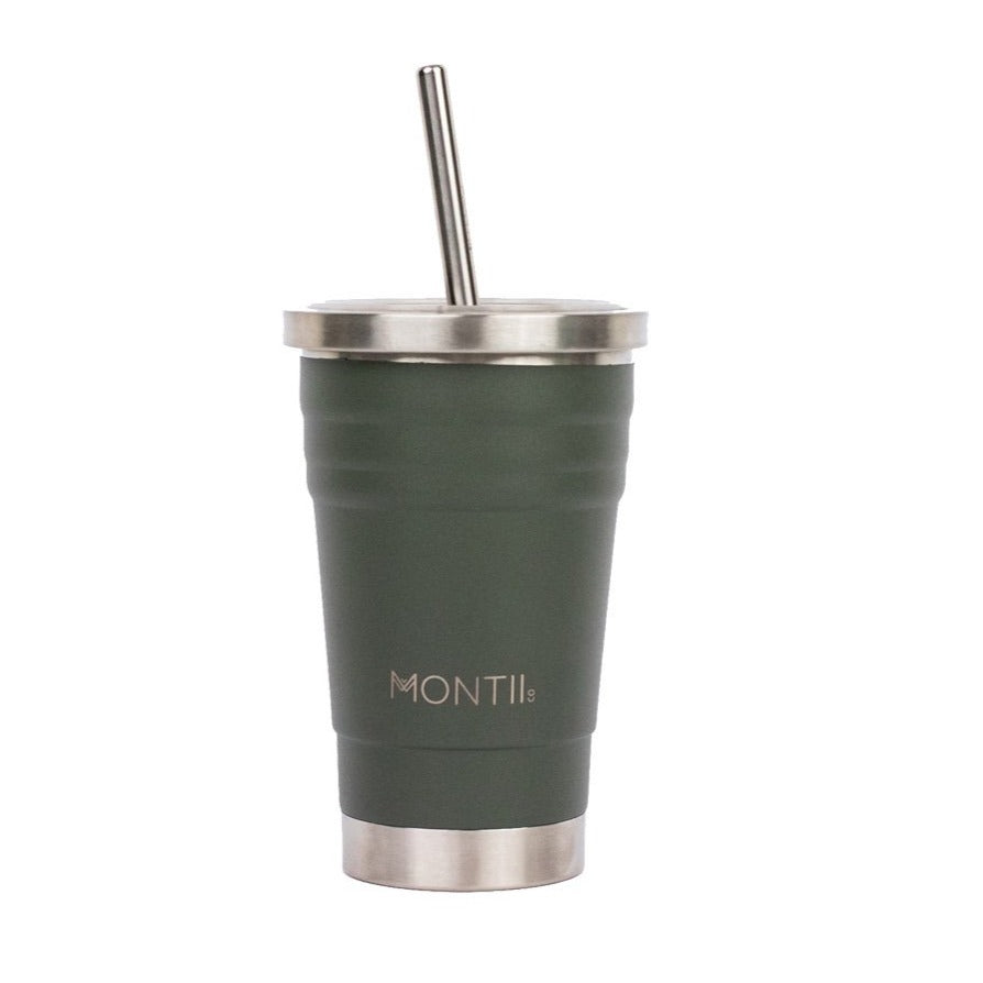 MontiiCo Mini Smoothie Cup (275ml) - Moss