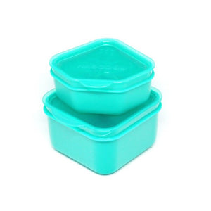 Goodbyn Dippers (Set of 2) - Neon Aqua - phunkyBento