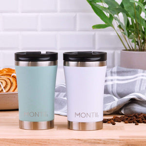 MontiiCo Regular Insulated Coffee Cup (350ml) - Eucalyptus