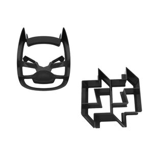 "Lunchpunch ""SuperHero"" Sandwich Cutters - (Set of 2) - phunkyBento"