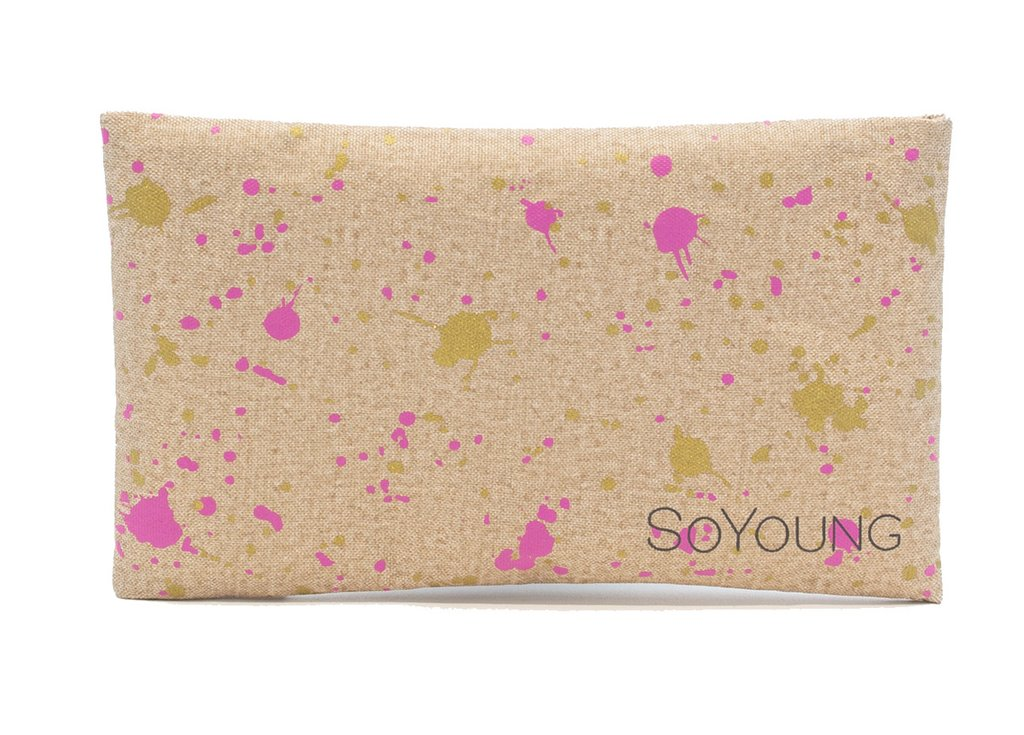 SoYoung Ice Pack - Fuchsia Gold Splatter