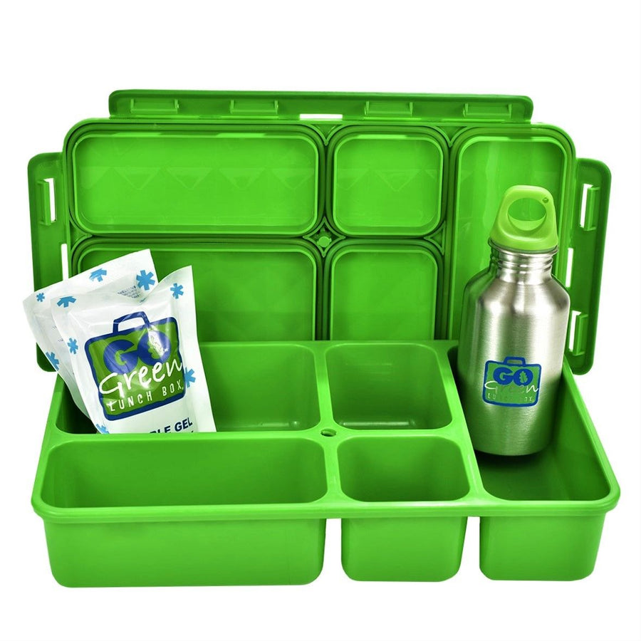 Go Green | Complete Lunchbox System - Fast Flames - phunkyBento