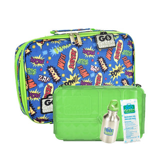 Go Green | Complete Lunch System - Superhero