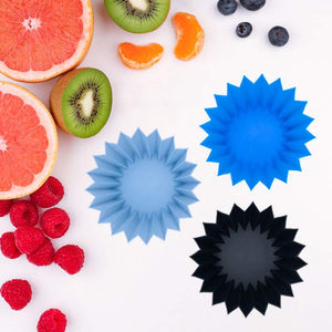 Lunchpunch | Jumbo Silicone Cups - Blue