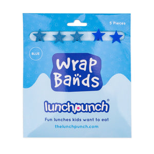 Lunchpunch Silicone Wrap Bands | 5 pack - Blue