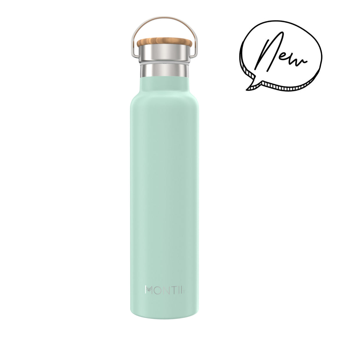 MontiiCo MEGA Insulated Drink Bottle (1000mls) - Eucalyptus