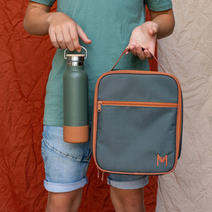MontiiCo Insulated Drink Bottle (600ml) - Moss