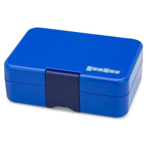 Yumbox Mini Snack Box (3 Compartment) - Neptune Blue - phunkyBento