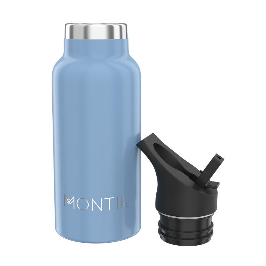MontiiCo Mini Insulated Drink Bottle (350ml) - Slate