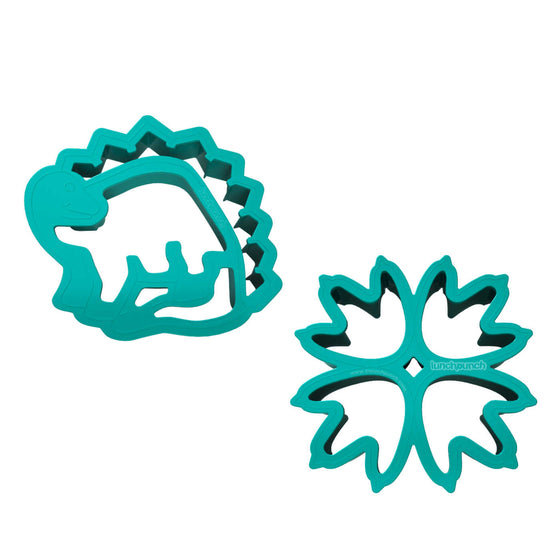"Lunchpunch ""Dinosaur"" Sandwich Cutters - (Set of 2) - PRE-ORDER NOW! - phunkyBento"