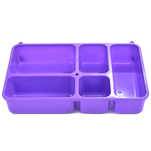 Go Green Lunch Box | LARGE - Purple - phunkyBento