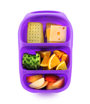 Goodbyn Bynto Lunchbox (NEW - now includes 2 leak proof dippers) - Neon Purple - phunkyBento