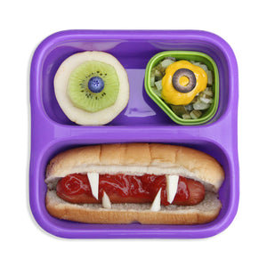 Goodbyn Small Meal (NEW - now includes 2 little dippers) - Neon Purple - phunkyBento