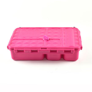 Go Green Lunch Box (Small) - Pink - phunkyBento