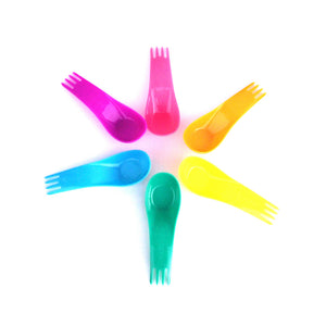 Goodbyn Spork | Set of 6 - Neon - phunkyBento